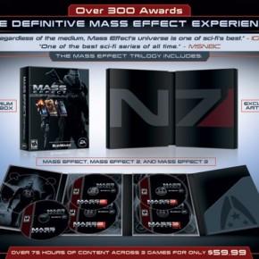 'Mass Effect Trilogy'Announced