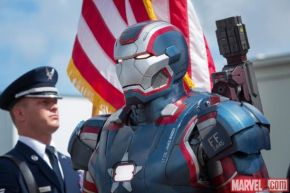 Iron Patriot Poster For 'Iron Man 3′ Unveiled