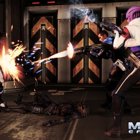 Mass Effect 3's Omega DLC Launch Trailer