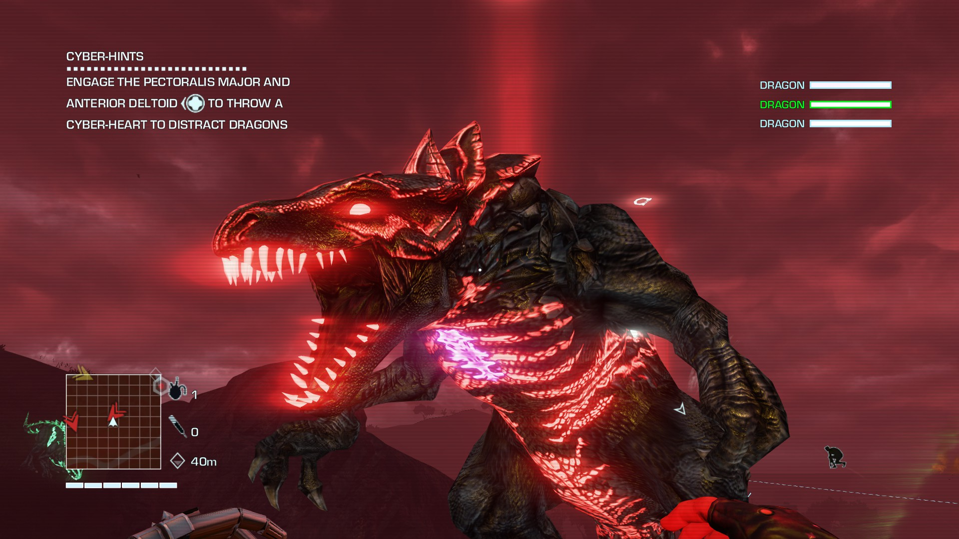Far Cry 3 Blood Dragon Review Shooting Giant Neon Lizards With
