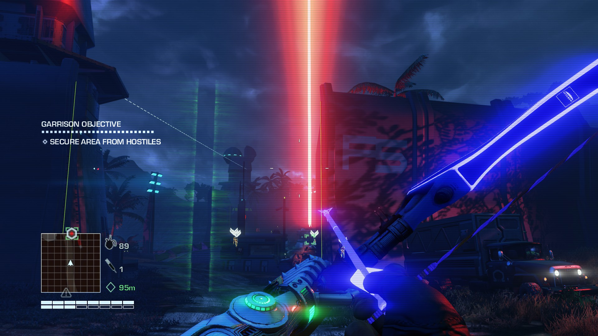 Far Cry 3 Blood Dragon Review Shooting Giant Neon Lizards With Laser Guns Has Never Been More Fun Pixel Related