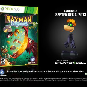 Here's A New 'Rayman Legends' Video, Pre-Order Character Skins AlsoAnnounced