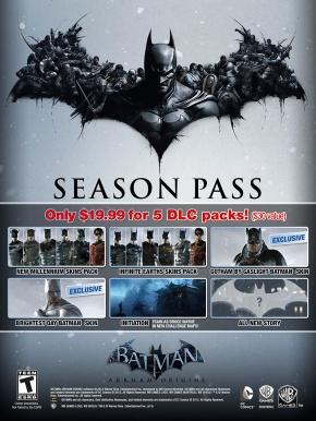'Batman: Arkham Origins' Season PassDetailed