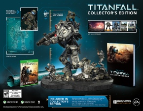 Titanfall: Official Collector's Edition Atlas Titan StatueReveal