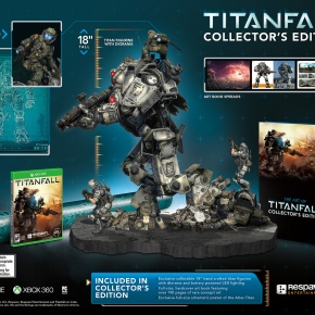 Titanfall: Official Collector's Edition Atlas Titan Statue Reveal