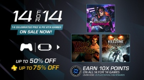 PSN's 14 For '14 Sale Starts Tomorrow
