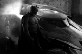 Zack Snyder Shows Off First Pic of Ben Affleck as Batman and BatmobileToo