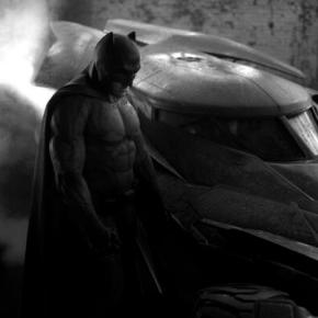 Zack Snyder Shows Off First Pic of Ben Affleck as Batman and Batmobile Too