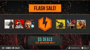 $5 PSN Flash Sale Now Live, 20+ Titles Available