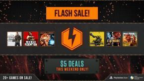 $5 PSN Flash Sale Now Live, 20+ TitlesAvailable