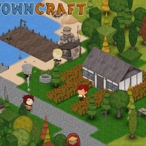 Towncraft Review: Like Minecraft Except You Make Others Do the Mining