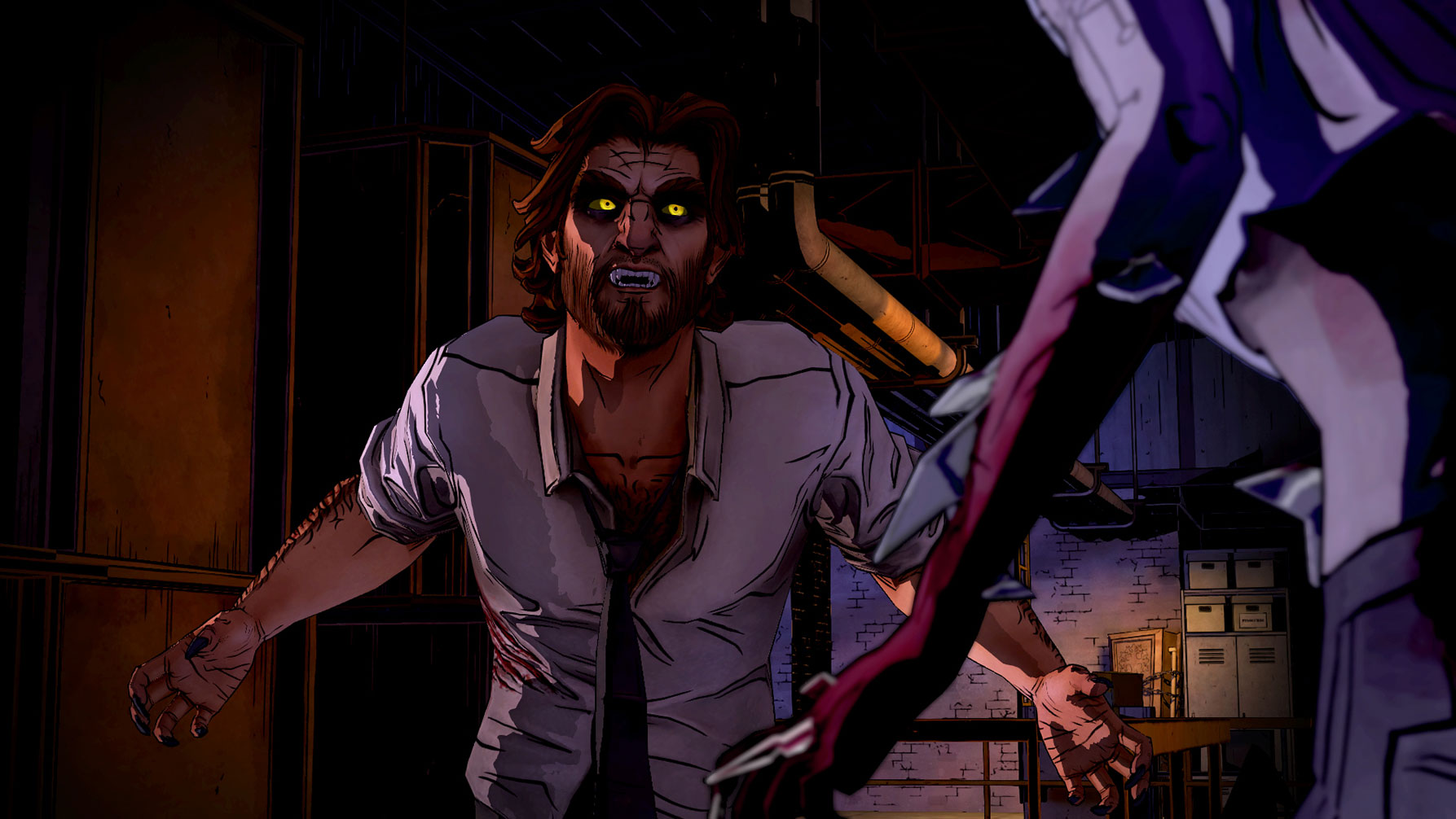 the wolf among us season 1 review it s everything a big. Black Bedroom Furniture Sets. Home Design Ideas