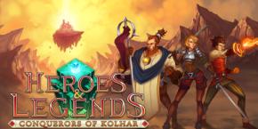 Heroes & Legends: Conquerors of Kolhar Review: Click ClickTomb