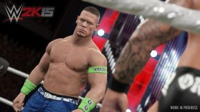 Hulkamania Edition Announced For WWE 2K15, John Cena Shows Off First Screenshot of Game