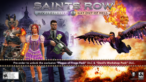 Saints Row IV: Gat Out of Hell Announces New Release Date and Pre-orderBonuses