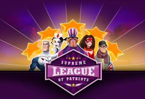 Supreme League of Patriots Review: Superheroes and Politics DoMix
