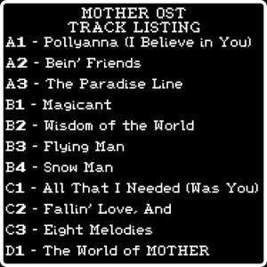 mother_ost_tracklisting