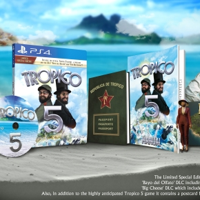 'Tropico 5' Coming To PS4 inApril