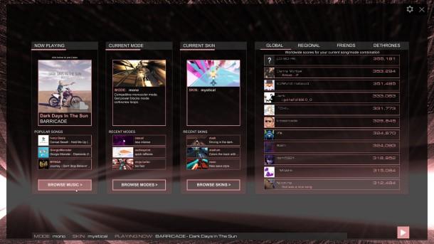 audiosurf_2_menu