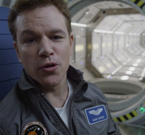 First Trailer for Ridley Scott's 'The Martian' Released