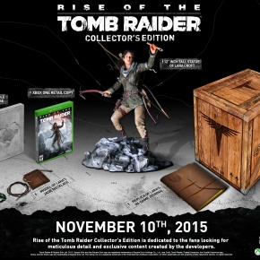 Collector's Edition For 'Rise of the Tomb Raider'Announced