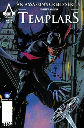 COVER REVEAL: Assassin's Creed Templars#1