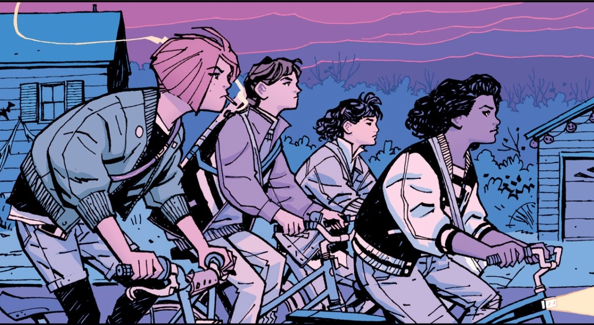 Paper Girls, Vol. 1 Review: First Jobs & Suburban Mystery