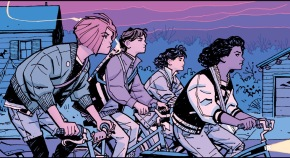 Paper Girls, Vol. 1 Review: First Jobs & SuburbanMystery