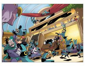 Supermansion #1: Covers + Art PreviewRevealed