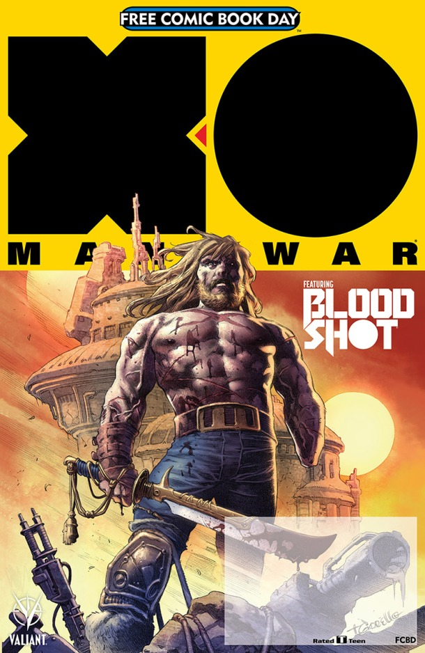 VALIANT: X-O MANOWAR FCBD 2017 SPECIAL – Cover Art by Tomas Giorello