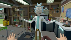 New Rick and Morty VR Game To Launch on 4/20