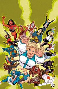 FAITH AND THE FUTURE FORCE #1 – Cover B by Kano