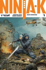 NINJA-K #1 – Interlocking Variant by Kenneth Rocafort