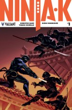 NINJA-K #1 – Cover B by Lucas Troya