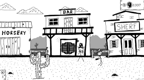 West of Loathing Review: Go West, Young Stick Figure Man