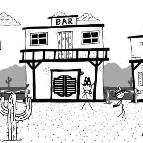 West of Loathing Review: Go West, Young Stick FigureMan