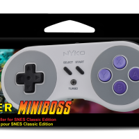 Nyko Reveals Super Miniboss Wireless Controller for SNES Classic Edition