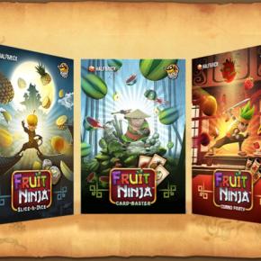 Fruit Ninja Expanding to Board Game Universe Through Tabletop Game SeriesKickstarter