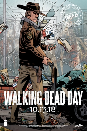 The Walking Dead Day - Postcard