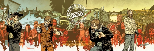 The Walking Dead Day - Bookmark