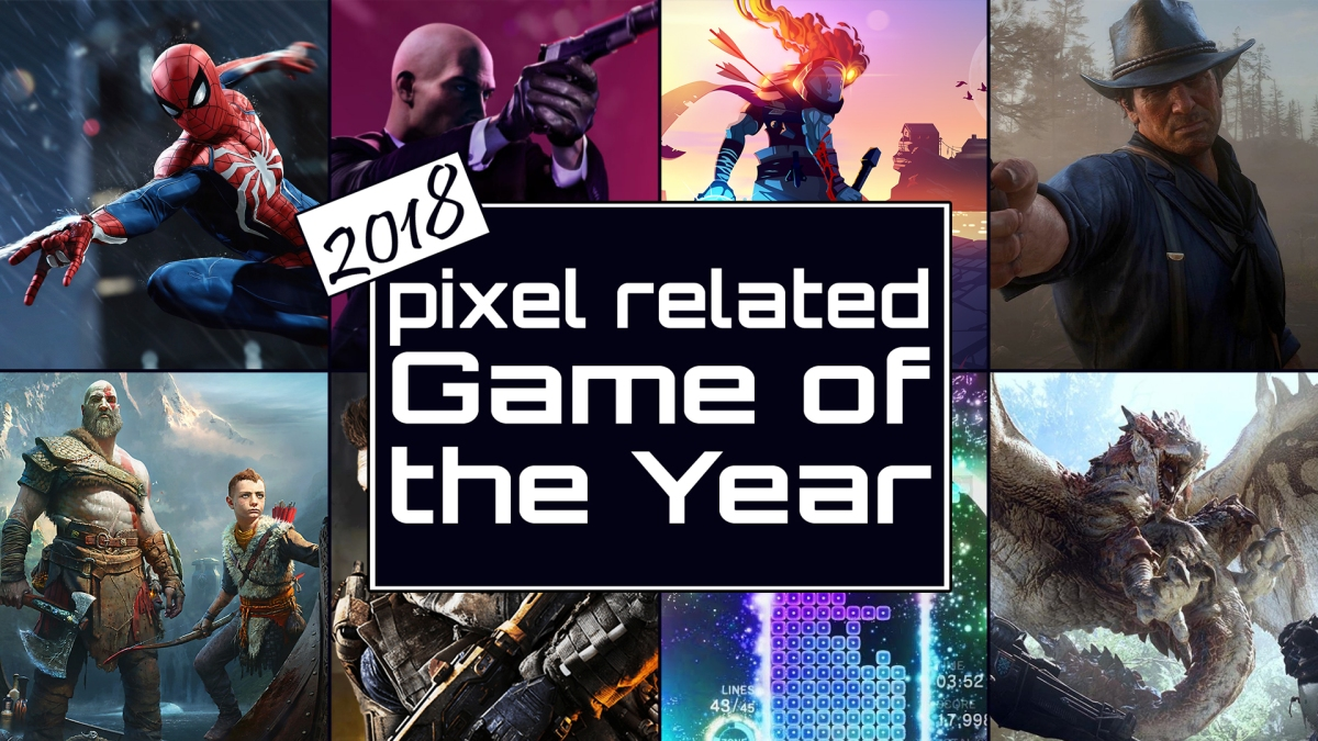 Pixel Related Podcast: Episode 78 - 2018 Game of the Year Awards Part 4