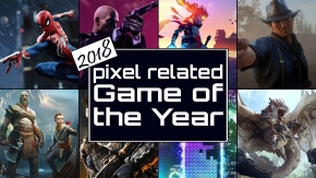 Pixel Related Podcast: Episode 75 – 2018 Game of the Year Awards Part 1