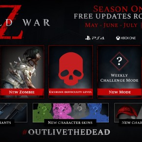'World War Z' Unveils Post-Launch Content Roadmap