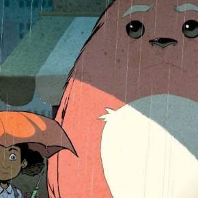 Sanford Greene Pays Homage to 'My Neighbor Totoro' in Upcoming 'Bitter Root' Variant Cover