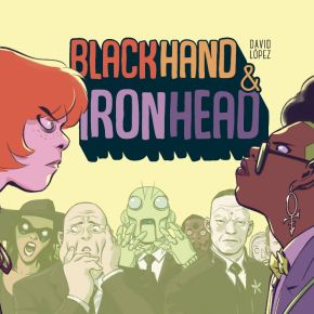 'Blackhand & Ironhead' Webcomic Hardcover Edition Coming This September